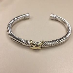 David yurman 5mm X bracelet cable